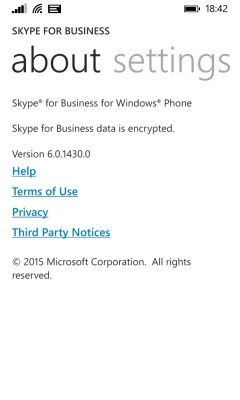 Skype4B Version