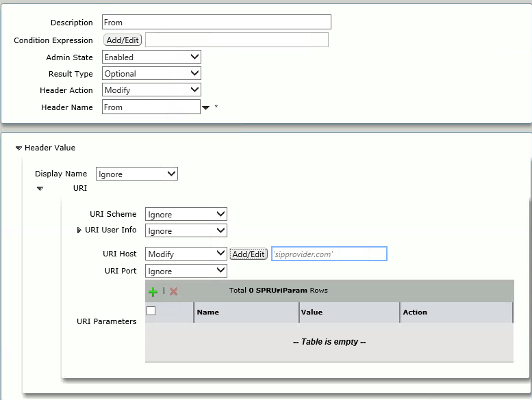 Sonus SBC SIP Trunk Config (Registration Mode